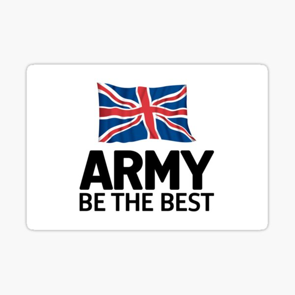 Army - Be the Best Sticker