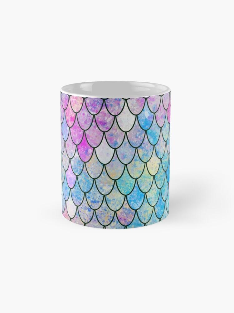 Alternate view of mermaid scales Mug