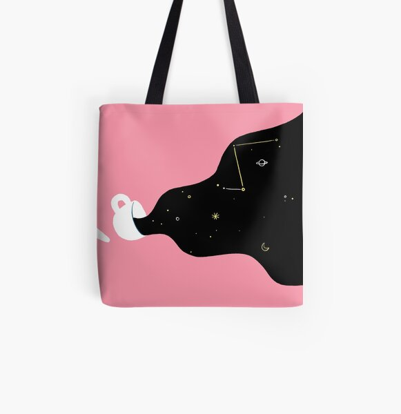 space coffee  All Over Print Tote Bag