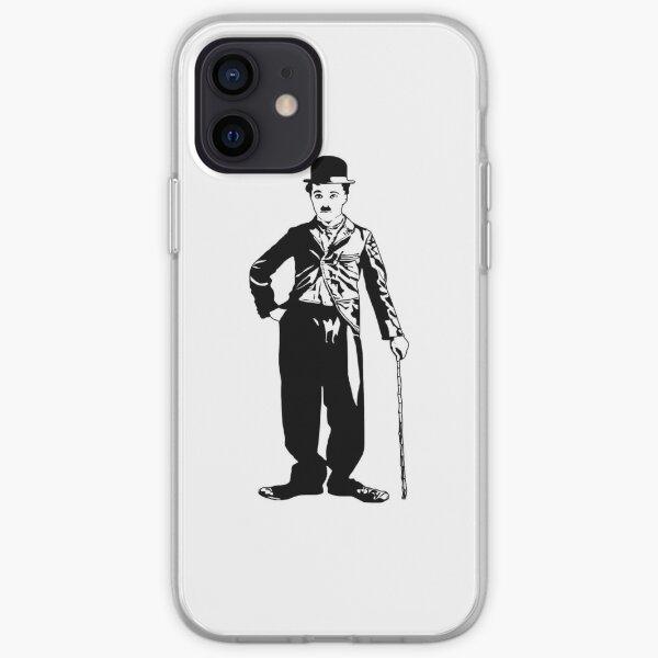 Charlie Chaplin Coque souple iPhone