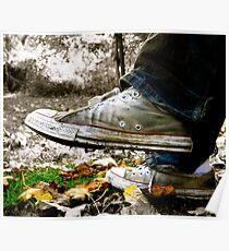 Walking Man.... Poster