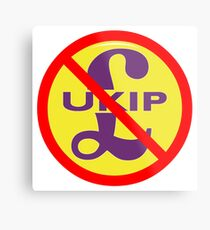 NDVH UKIP Metal Print