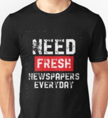 Newspaper ritual Unisex T-Shirt
