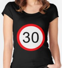 30 something... Women's Fitted Scoop T-Shirt