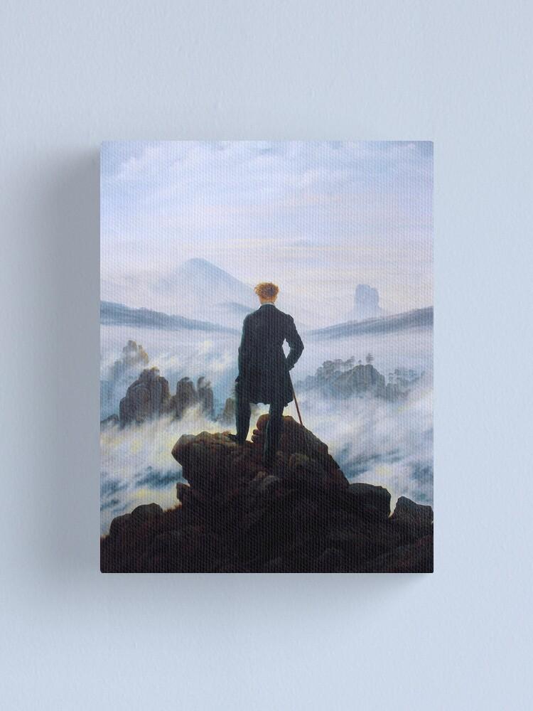 Caspar David Friedrich Wanderer Above The Sea Of Fog Canvas Print By Ald1 Redbubble