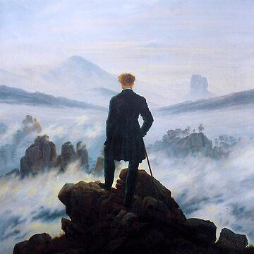 "Caspar David Friedrich ""Wanderer above the sea of fog"" by ALD1"