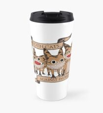 Loth Cats Against Imperialism Travel Mug