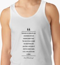 David Attenborough famous quote about history Tank Top