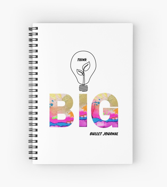 Think BIG Bullet Journal by Rachael Hope