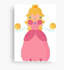 Princess PeachyPoo Canvas Print