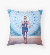 The Yogi Throw Pillow
