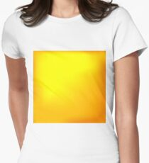 Abstract Yellow Background Women's Fitted T-Shirt