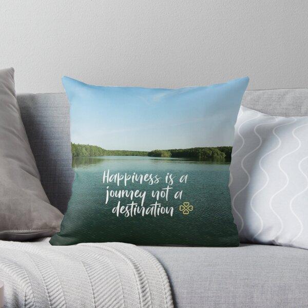 Happiness is a journey Dekokissen