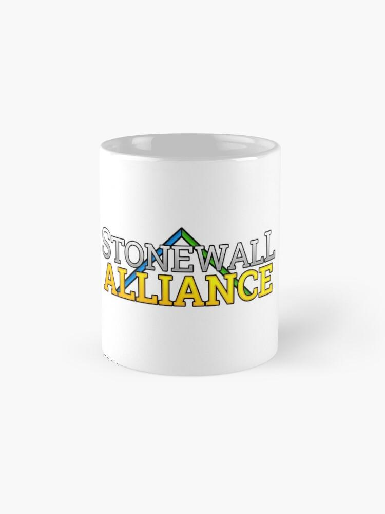 Alternate view of Stonewall Alliance Mug
