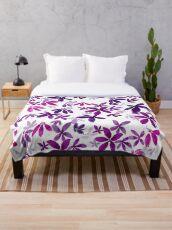 Celeste - Pink Palette  Throw Blanket