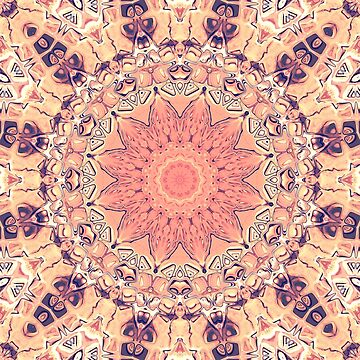 Orange Kaleidoscope by perkinsdesigns