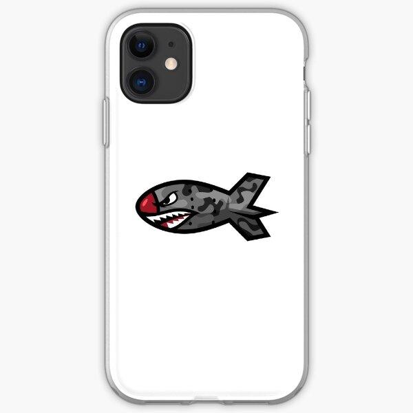 Bape Shark Bomb Torpedo iPhone Soft Case