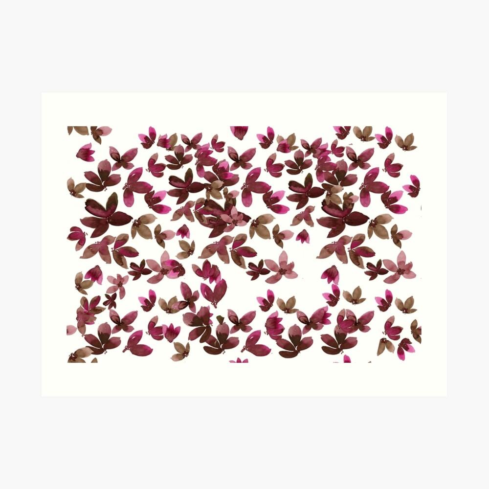Born to Butterfly - Autumn Palette Art Print