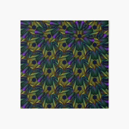 Abstract geometric pattern Art Board Print