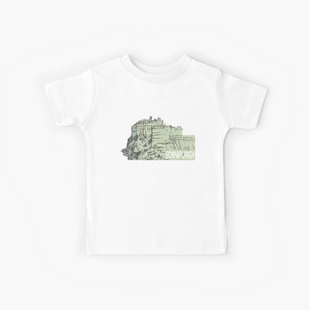 Castle Rock, Edimburgo Camiseta para niños