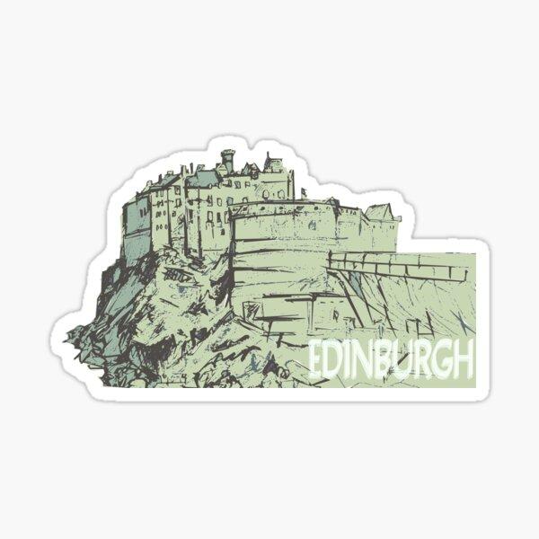 Castle Rock, Edinburgh Sticker
