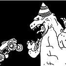 Happy Birthday Godzilla by Chrissie Bonner