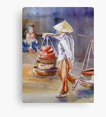 Thai Carrier Canvas Print