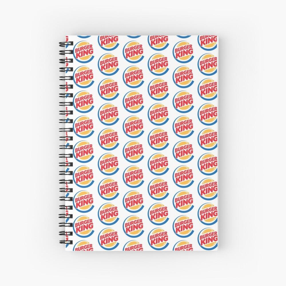 Burger King Gear | Spiral Notebook