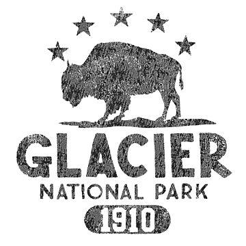 Glacier National Park -Bison by snarkee