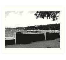 Balmoral Beach - Corso Art Print