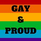 Gay and Proud by IdeasForArtists