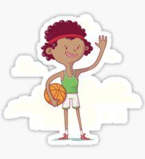 Basket boy Sticker