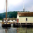 Beauty on the Water-Mystic Seaport, CT by AARose