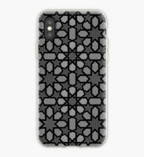 Black and white pattern 2, geometric design, oriental style -  iPhone-Hülle & Cover