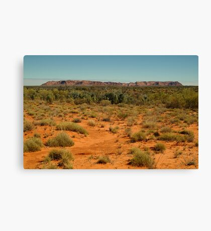 Gosse Bluff, near the West McDonell Ranges,N.T. Canvas Print