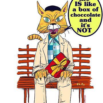 My name is Schrödinger's, Schrödinger's cat! by FMMr