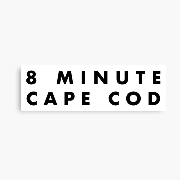 Vampire Weekend 8 Minute Cape Cod  Canvas Print