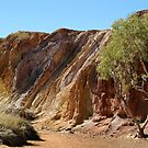 Ochre Pits,West McDonell Ranges,N.T. by Joe Mortelliti