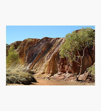 Ochre Pits,West McDonell Ranges,N.T. Photographic Print