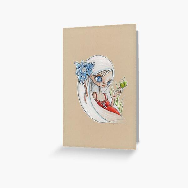 Escargot Greeting Card