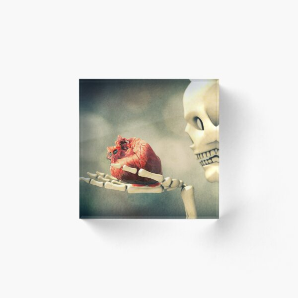 All I Ever Wanted Was Your Heart Acrylic Block