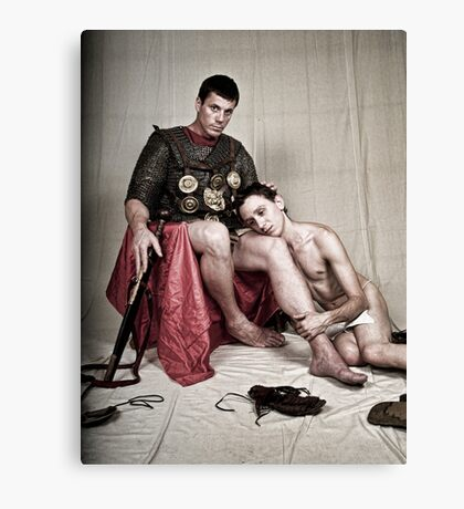 LOA - The Centurion and his Pais Canvas Print
