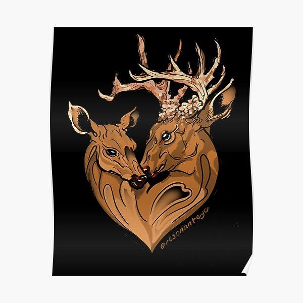 deer love Poster