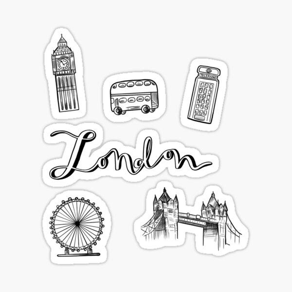 London City Sticker Pack Sticker