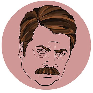 ron swanson - parks and recreation  by joshuanaaa