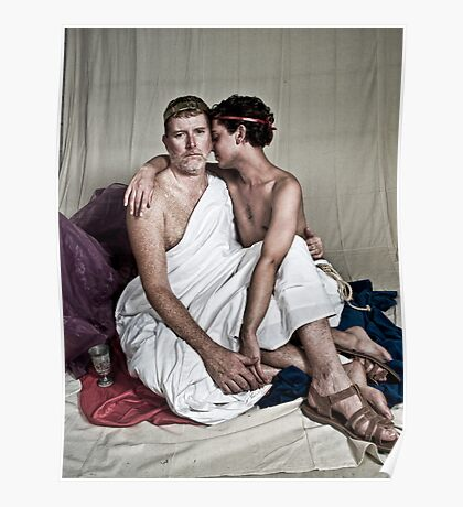LOA - Hadrian and Antinous Poster