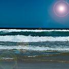 Beach Scene 2 by Aaron Holloway