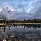 Rockies Sunrise by Lorraine Creagh