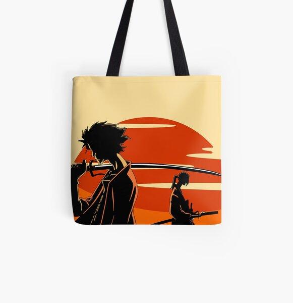 Samurai Champloo Goodies Bolsa estampada de tela