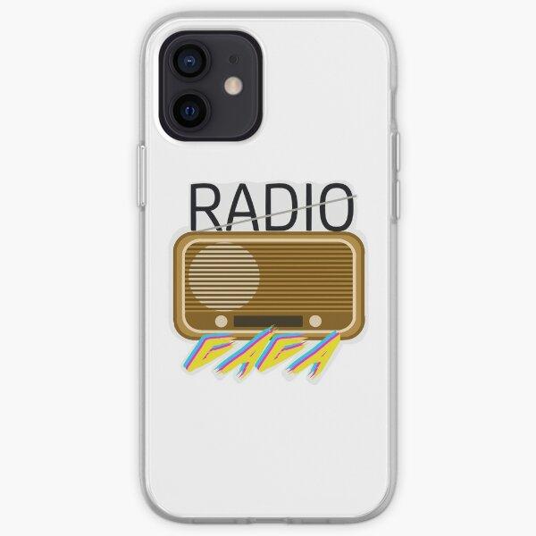 Radio Gaga Coque souple iPhone